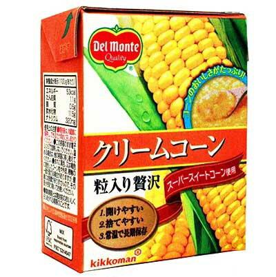 《デルモンテ》クリームコーン(粒入り贅沢)【380g】