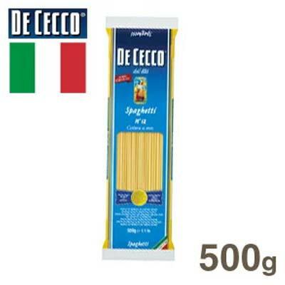 《ディチェコ》スパゲティーNO.12(1.9mm)【500g】