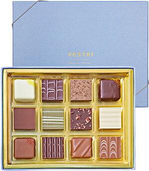 VESTRI 【Praline 12 / プラリネ12】 イタリア チョコレート ギフト 贈り物 プレゼント 父の日 お祝い