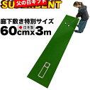 [父の日ギフト包装無料]【日本製 特別サイズ】パターマット工房 60cm×3m SUPER-BENT スーパーベントパターマット(…