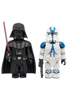 STARWARS(TM)KUBRICKDARTHVADERS(TM)&501stLEGIONCLONETROOPER(TM)2PACK【同梱不可商品】