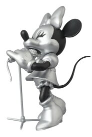 UDF ROEN collection MINNIE MOUSE (SOLO Ver.) BLACK & SILVER