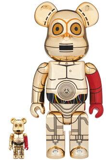 BE@RBRICKC-3PO(TM)THEFORCEAWAKENSVer.100%&400%