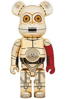 BE@RBRICKC-3PO(TM)THEFORCEAWAKENSVer.1000%