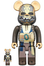 BE@RBRICK Jack Sparrow 100% & 400% (Pirates of the Caribbean: Dead men tell no tales Ver.)