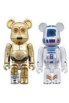 C-3PO(TM)&R2-D2(TM)BE@RBRICKSTARWARS2PACK《2017年10月発売予定》