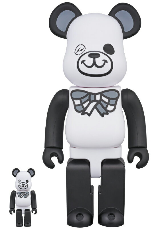 BE@RBRICK FREEMASONRY × fragmentdesign 100% & 400% WHITE