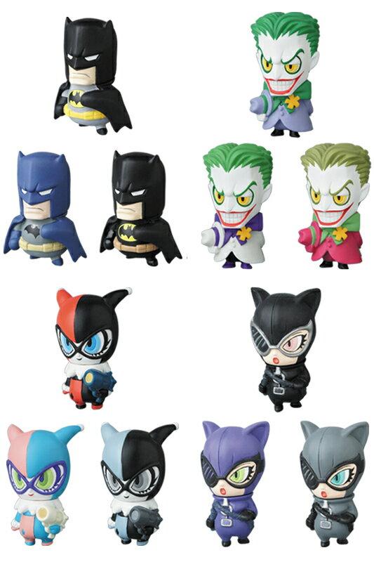 MVP(MICRO VINYL PLEASURE) SERIES 1 DCキャラクターズ1 バットマン/ジョーカー/ハーレイ・クイン/キャットウーマン