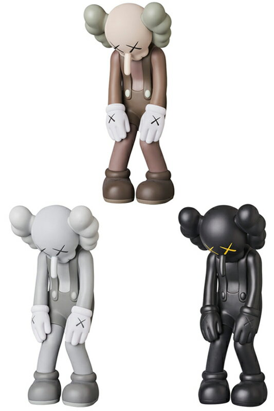 KAWS SMALL LIE BROWN/GRAY/BLACK※キャンセル不可