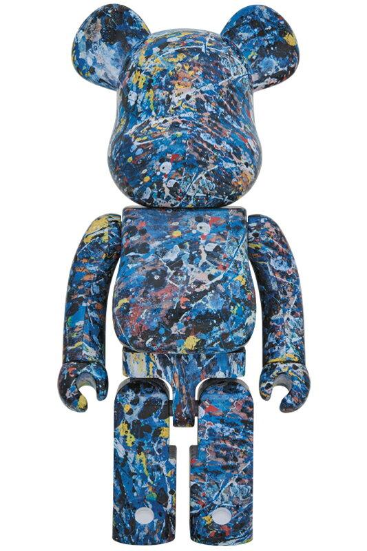 BE@RBRICK Jackson Pollock Studio 1000%(WATER PRINT)