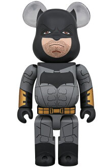 BE@RBRICKBATMAN(JUSTICELEAGUEVer.)400%《2018年7月発売・発送予定》