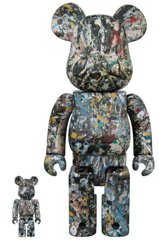 BE@RBRICK Jackson Pollock Ver.2.0 100% & 400%《2018年8月発売・発送予定》