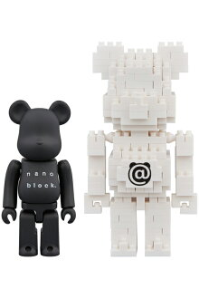 BE@RBRICK×nanoblockTM2PACKSETB《2018年8月発売予定》