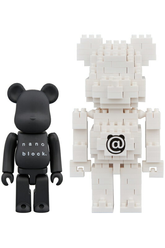 BE@RBRICK × nanoblock TM 2PACK SET B《2018年8月発売予定》