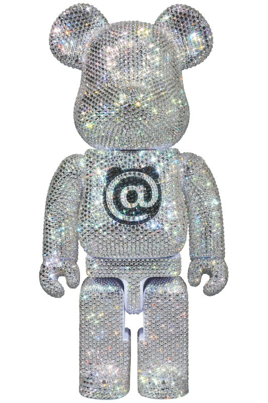 CRYSTAL DECORATE BE@RBRICK 400%《2018年12月以降発送予定》