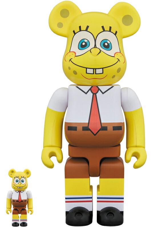 BE@RBRICK SpongeBob 100% & 400%《2018年10月発売・発送予定》