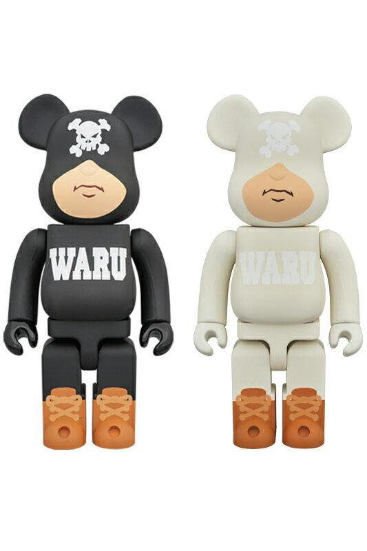 BE@RBRICK TOKYO TRIBE WARU 400% BLACK/WHITE《2018年10月発売・発送予定》