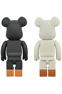 BE@RBRICKTOKYOTRIBEWARU400%BLACK/WHITE《2018年10月発売・発送予定》