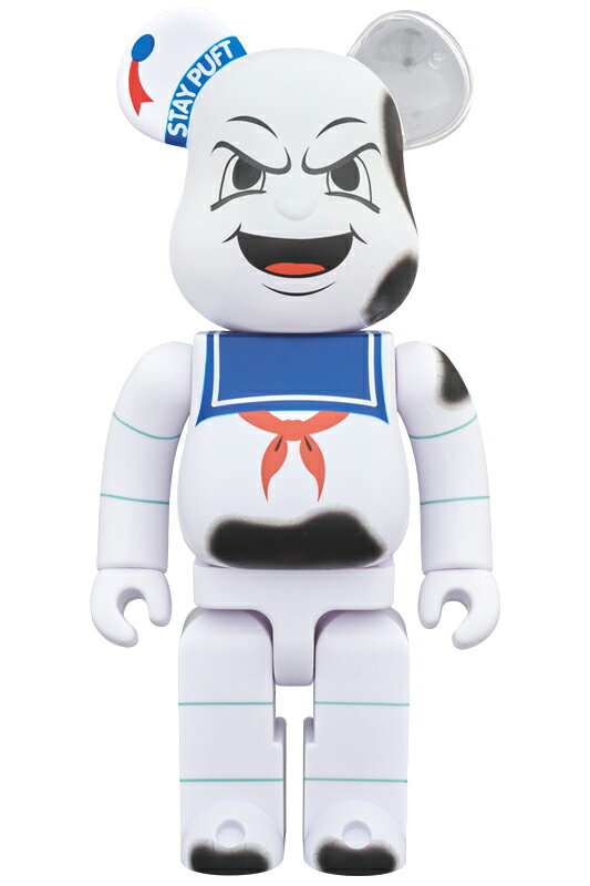 """BE@RBRICK STAY PUFT MARSHMALLOW MAN """"ANGER FACE"""" 400%《2018年10月発売・発送予定》"""