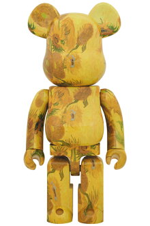 BE@RBRICK「VanGoghMuseum」Sunflowers1000%《2019年12月発売・発送予定》