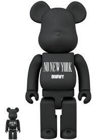 "BE@RBRICK BOOWY ""NO NEW YORK"" 100% & 400%"