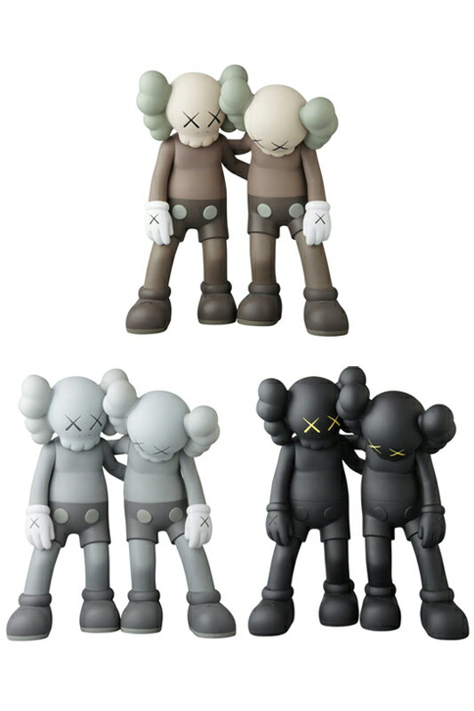 KAWS ALONG THE WAY BROWN/GREY/BLACK※キャンセル不可