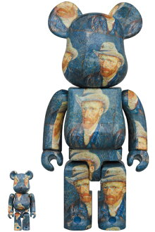 BE@RBRICK「VanGoghMuseum」Self-PortraitwithGreyFeltHat100%&400%《2020年12月発売・発送予定》