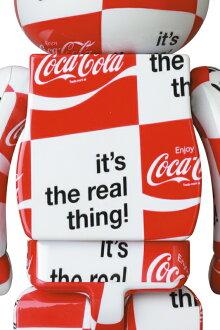 BE@RBRICKatmos×Coca-Cola1000%CHECKERBOARD