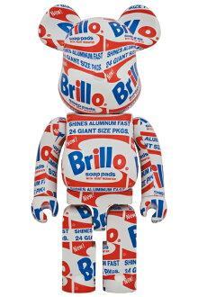 "BE@RBRICKANDYWARHOL""Brillo""1000%《2020年12月発売・発送予定》"