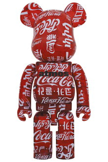 BE@RBRICKatmos×Coca-ColaCLEARRED1000%