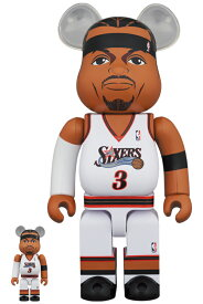 BE@RBRICK Allen Iverson (Philadelphia 76ers)100% & 400%《2021年4月発売・発送予定》