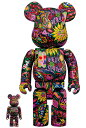 BE@RBRICK Psychedelic Paisley 100% & 400%