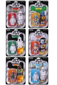 STAR WARS(TM) KUBRICK(キューブリック) BOBA FETT(TM) COLLECTION SET OF 6pcs. COLLECTORS EDITION