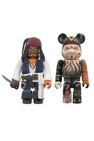 KUBRICK Jack Sparrow Cannibal Eyes ver. & BE@RBRICK Davy Jones(Dead Man's Chest)