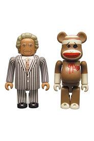 マゴリアムおじさんKUBRICK(キューブリック)& ソックモンキー BE@RBRICK(ベアブリック)SET