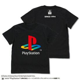 """【送料無料対象商品】コスパ プレイステーション TシャツVer.2 初代""""PlayStation"""" BLACK【ネコポス/ゆうパケット対応】"""