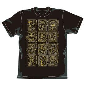 【送料無料対象商品】コスパ 聖闘士星矢 黄金聖衣Tシャツゴールドver. BLACK 【ネコポス/ゆうパケット対応】