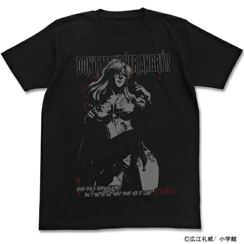 【送料無料対象商品】コスパ ブラックラグーン 水着のバラライカTシャツ ブラック 【ネコポス/DM便対応】