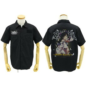 【送料無料対象商品】コスパ 俺の妹がこんなに可愛いわけがない。 神猫フルカラーワークシャツ BLACK
