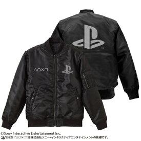 """コスパ プレイステーション MA-1/""""PlayStation"""" BLACK"""