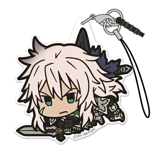 【ネコポス/DM便対応】コスパ Fate/Apocrypha 黒のセイバー アクリルつままれストラップ