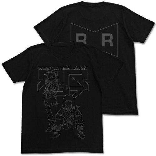 【送料無料対象商品】コスパ ドラゴンボールZ 人造人間17号&18号Tシャツ BLACK 【ネコポス/DM便対応】【2019年1月再販予定 予約商品】