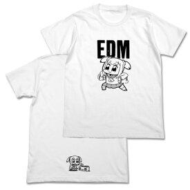 【送料無料対象商品】コスパ ポプテピピック ポプテピピックEDM Tシャツ WHITE【ネコポス/ゆうパケット対応】【7月再販予定 予約商品】