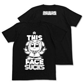 【送料無料対象商品】コスパ ポプテピピック ポプテピピックSUCKS Tシャツ BLACK【ネコポス/ゆうパケット対応】【8月再販予定 予約商品】