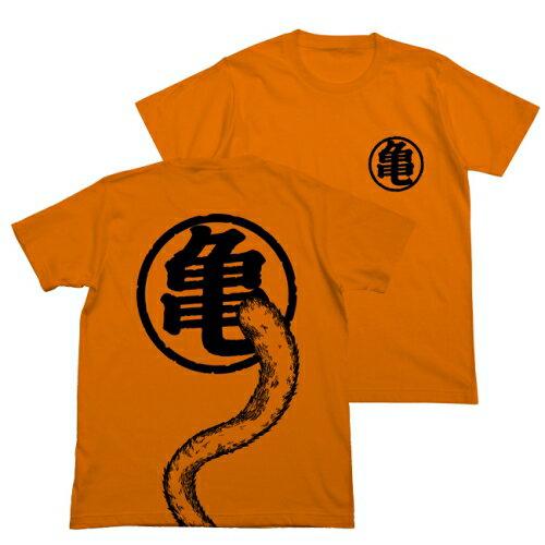 【送料無料対象商品】コスパ ドラゴンボールZ 悟空の尻尾Tシャツ ORANGE【ネコポス/DM便対応】