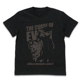 【送料無料対象商品】コスパ EVANGELION アスカ&2号機 Tシャツ BLACK【ネコポス/ゆうパケット対応】