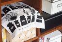 アルメダールス キッチンタオル ハーブ・スパイスポット ブラック / almedahls 【2点までネコポス可】
