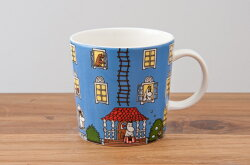 アラビア(ARABIA)ムーミン(Moomin)マグムーミンハウス(Moominhouse)70周年記念マグカップ