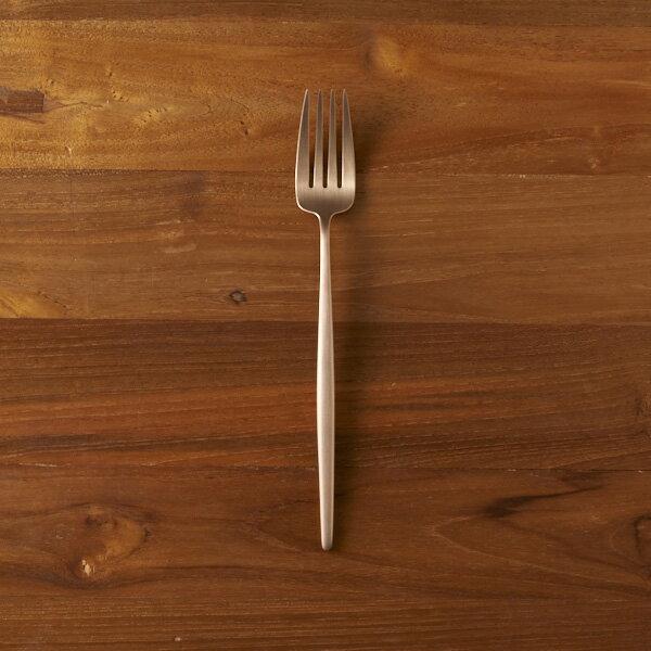クチポール ムーン・アンバーゴールド ディナーフォーク / Cutipol MOON-AmberGold  【ネコポス不可】