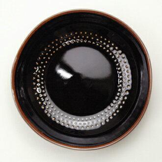 白山陶器外壳小碟子F天眼睛/HAKUSAN